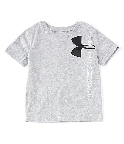 Under Armour Little Boys 2T-7 Short Sleeve UA Split Logo T-Shirt