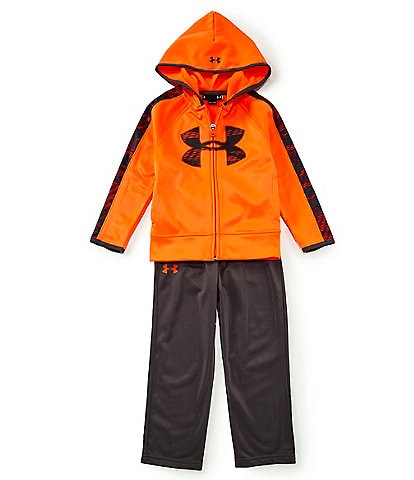 Under Armour Little Boys 2T-7 Trave Track Hooded Jacket & Pant Set