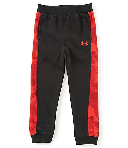 Under Armour Little Boys 2T-7 Traverse Camouflage Pieced Jogger Pants