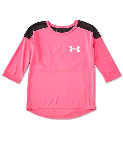 Under Armour Little Girls 2T-6X Classic Varsity Tee