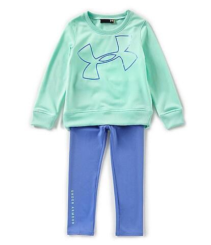 Under Armour Little Girls 2T-6X Long-Sleeve Big Logo Tunic & Leggings Set