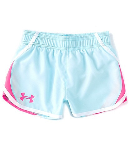 Under Armour Little Girls 2T-6X UA Fly By Shorts