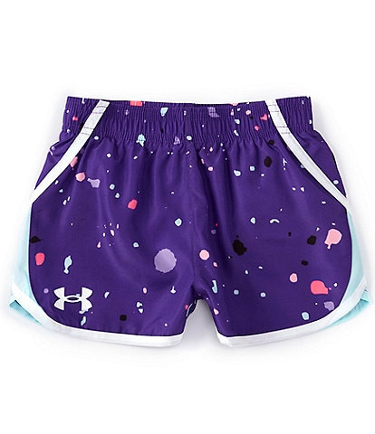 Under Armour Little Girls 2T-6X UA Splash Fly By Shorts