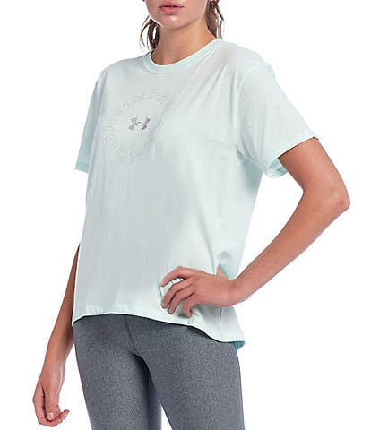 Under Armour Live Fashion Short Sleeve Graphic Cotton Blend Tee