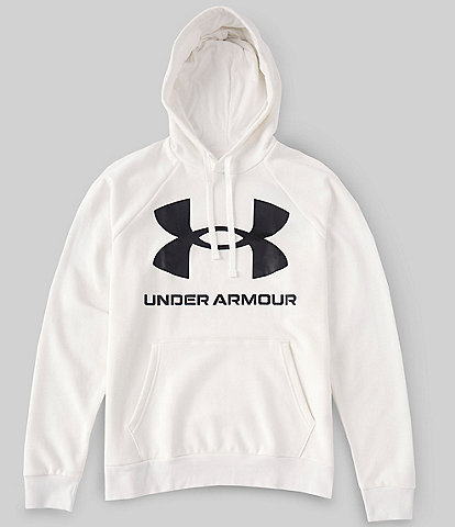 Under Armour Long-Sleeve UA Rival Fleece Big Logo Hoodie