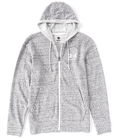 Under Armour Loose Long-Sleeve UA Sportstyle Terry Full Zip Hoodie