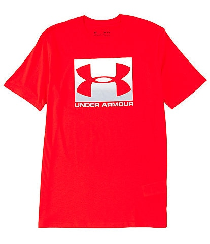 Under Armour HeatGear® Charged Cotton® Loose Short-Sleeve Boxed Sportstyle T-Shirt