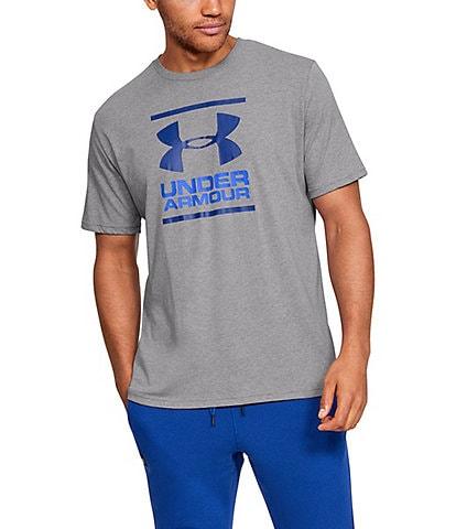 Under Armour HeatGear® Charged Cotton®Loose Short-Sleeve GL Foundation Training Screen Print T-Shirt