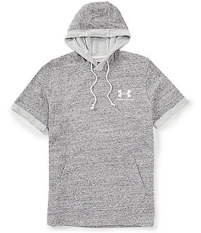 Under Armour Sportstyle Short-Sleeve Loose Terry Hoody