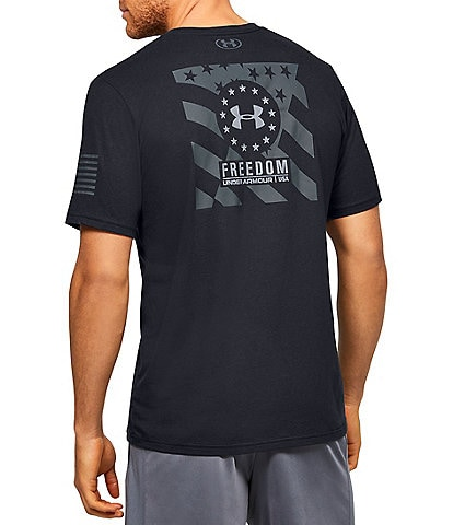 Under Armour UA Freedom BFL Monochrome Short-Sleeve T-Shirt