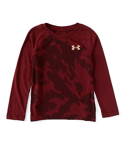 Under Armour Under Armour Outdoor Little Boys 4-7 Long-Sleeve Fury Camo Tee