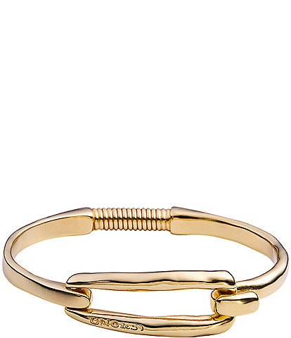 UNOde50 Tied Gold-Tone Bangle Bracelet