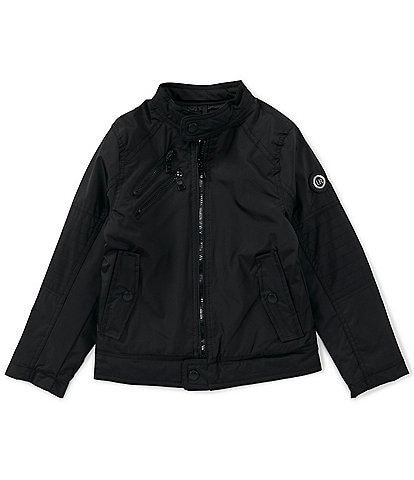 Urban Republic Big Boys 8-20 Cloud Ballistic Moto Jacket