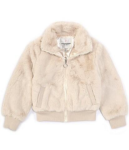 Urban Republic Little Girls 2T-6X Long-Sleeve Faux-Fur Bomber Jacket