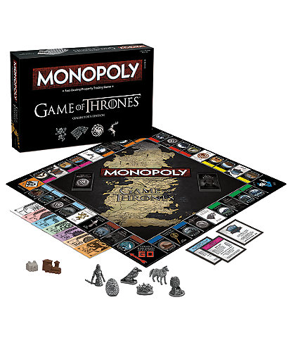USAopoly Game of Thrones Collector's Edition Monopoly® Game