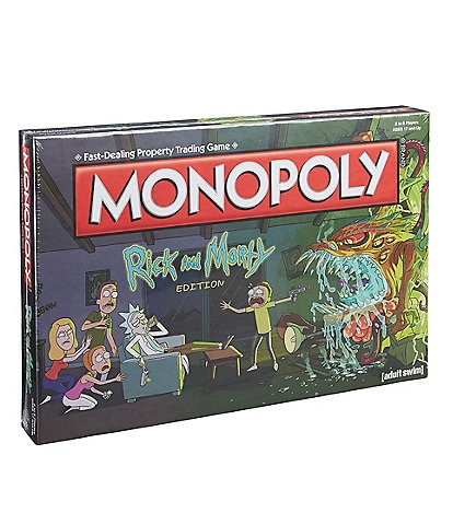 USAopoly Rick and Morty Monopoly® Game