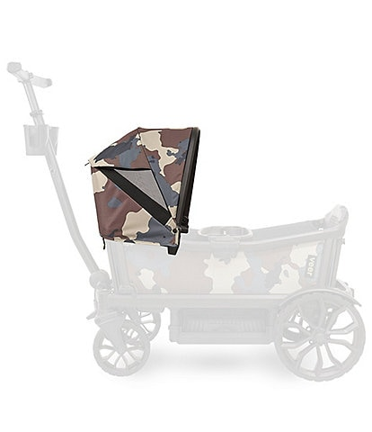 Veer Camo Print Retractable Canopy Attachment for Cruiser/Wagon