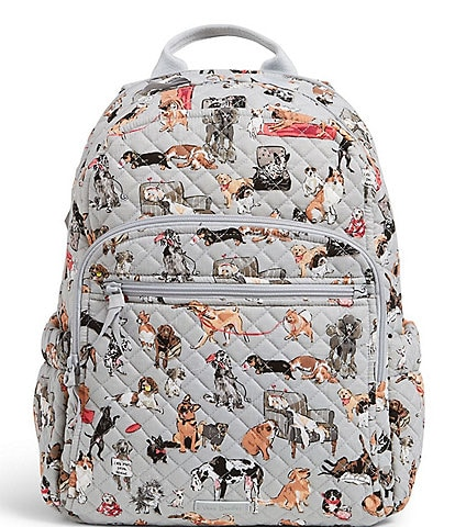 Vera Bradley Best In Show Collection Iconic Campus Quilted Backpack