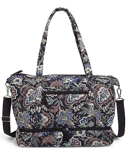 Vera Bradley Deluxe Travel Tote Bag