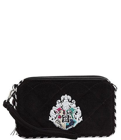Vera Bradley Harry Potter Collection Corduroy Hogwarts RFID All in One Crossbody Bag