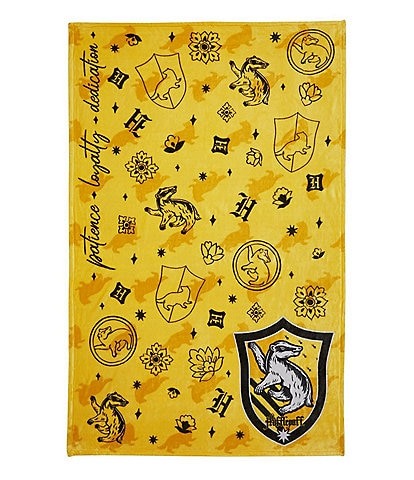 Vera Bradley Harry Potter Collection Plush Throw Blanket