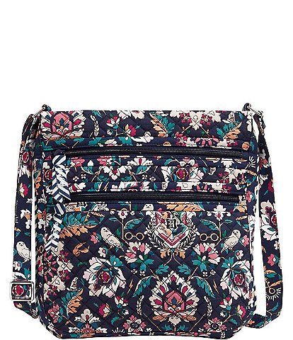 Vera Bradley Harry Potter Collection Triple Zip Hipster Crossbody Bag