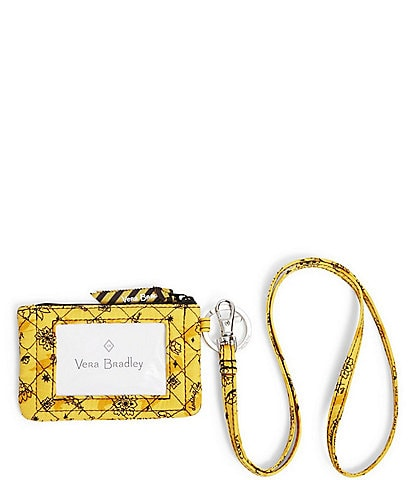Vera Bradley Harry Potter Collection Zip ID Lanyard