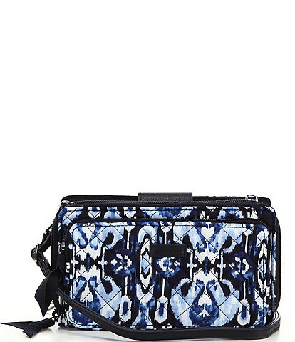 Vera Bradley Iconic Deluxe All Together Crossbody Wallet Bag