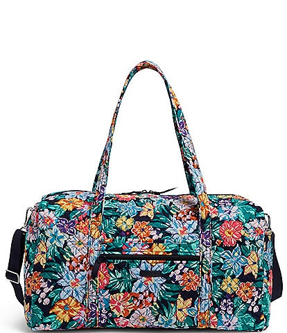 Vera Bradley Iconic Large Quilted Travel Duffel Bag