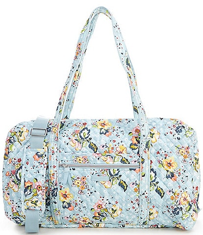 Vera Bradley Iconic Lay Flat Travel Duffel Bag