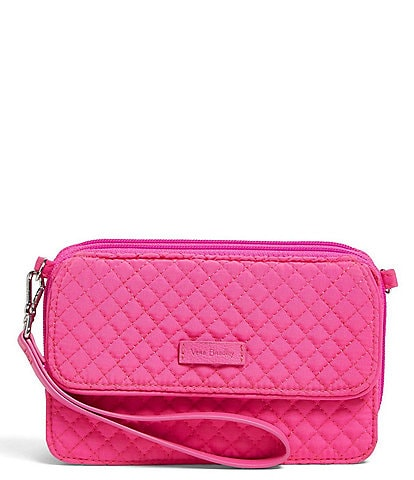Vera Bradley Iconic RFID All-In-One Quilted Crossbody Bag