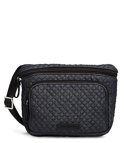 Vera Bradley Iconic RFID Denim Belt Bag