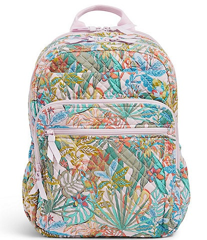 Vera Bradley Iconic XL Campus Floral Backpack