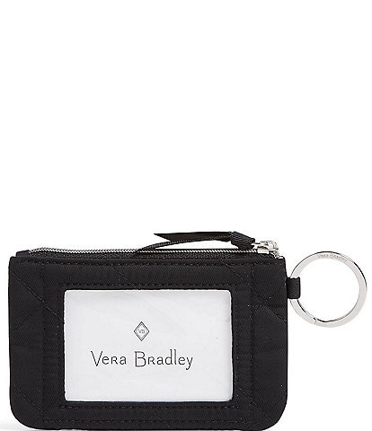 Vera Bradley Performance Twill Collection Zip ID Case