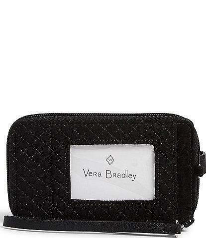 Vera Bradley Microfiber Collection RFID Smartphone Wristlet