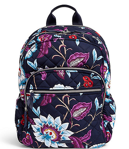 Vera Bradley Performance Twill Collection Campus Backpack