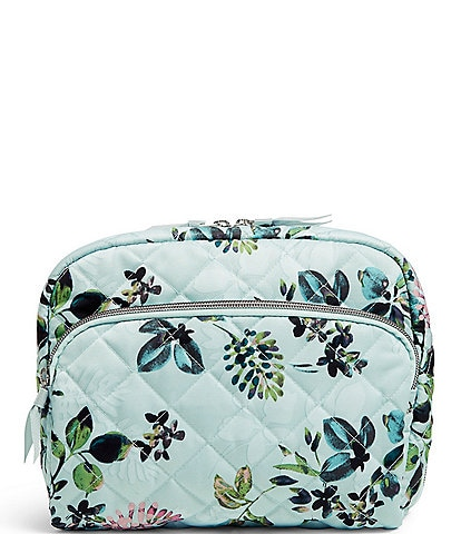 Vera Bradley Performance Twill Collection Large Cosmetic Bag
