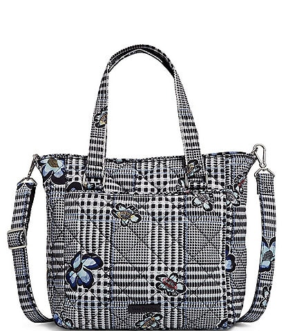 Vera Bradley Performance Twill Collection Multi-Strap Bedford Plaid Shoulder Bag