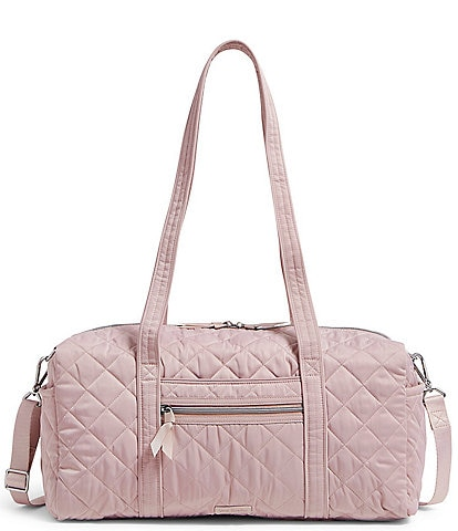 Vera Bradley Performance Twill Collection Small Quilted Travel Duffel Bag