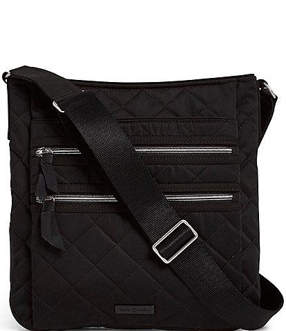 Vera Bradley Performance Twill Collection Triple Zip Hipster Crossbody Bag