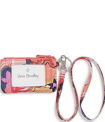 Vera Bradley ReActive Zip ID Lanyard