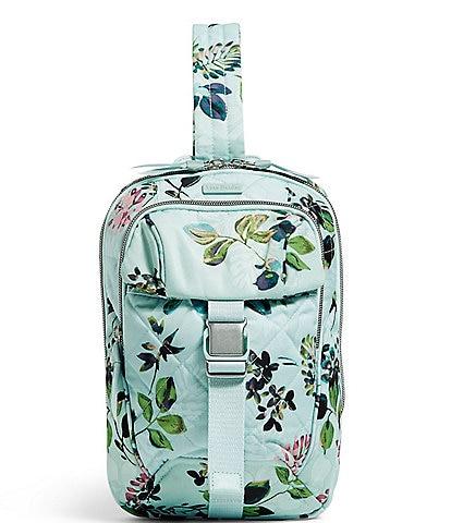 Vera Bradley Floral Print Utility Sling Backpack