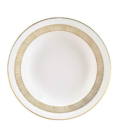 Vera Wang by Wedgwood Gilded Weave Rim Soup Bowl