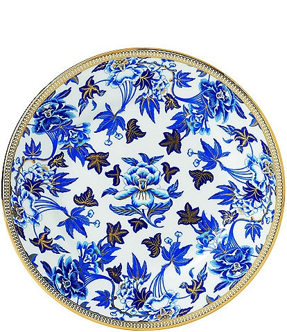 Wedgwood Hibiscus Bone China Salad Plate