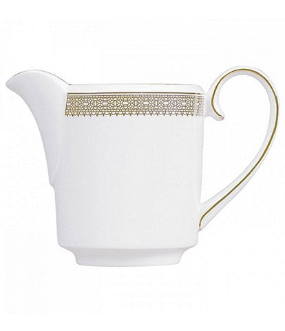 Vera Wang by Wedgwood Vera Lace Gold Bone China Creamer