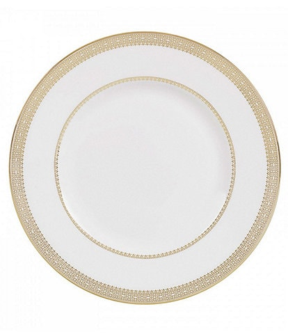Vera Wang by Wedgwood Vera Lace Gold China Accent Salad Plate