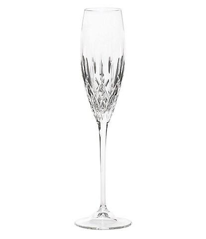 Vera Wang Fidelity Deep-Cut Crystal Flute Stemware