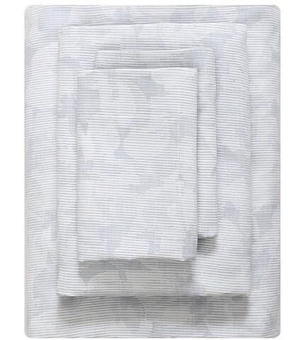 Vera Wang Variegated Floral Sheet Set