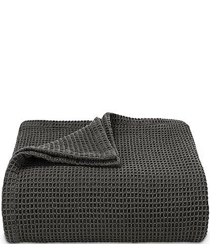 Vera Wang Waffle Weave Bed Blanket