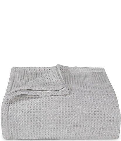 Vera Wang Waffleweave Bed Blanket